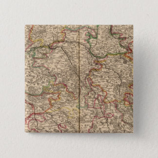 Forests and settlements in France Pinback Button