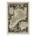 Forests, cities, towns print