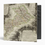 Forests, cities, towns vinyl binder