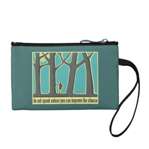 Forests, Trees, Hiking Change Purses