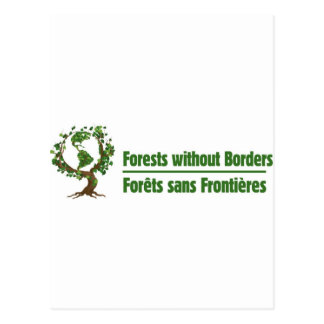 Forests without Borders - Forêts sans frontières Postcard