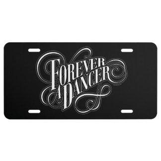 Forever A Dancer License Plate