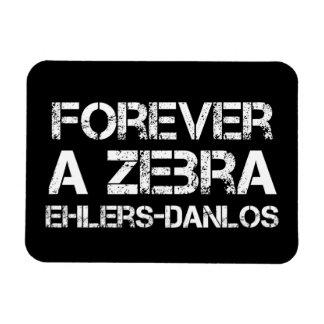 Forever a Zebra EDS Flexible Magnet