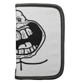 forever alone face folio planner