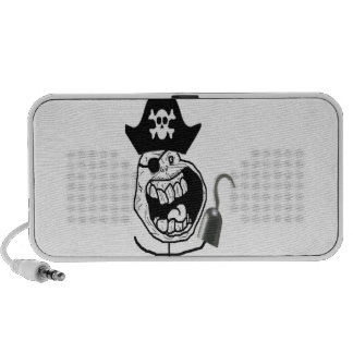 Forever Alone Pirate Comic Face Laptop Speaker