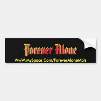 Forever Alone sticker 1