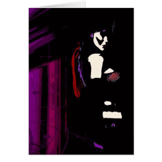 Forever Alone Vampire Modern Art Card