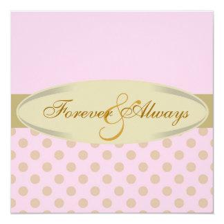 Forever & Always Elegant Wedding Invitation