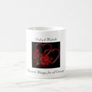 Forever & Always, for all Eternity Coffee Mugs