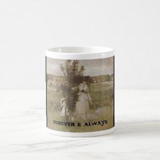 FOREVER & ALWAYS COFFEE MUGS