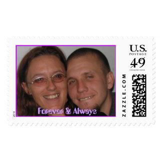 Forever & Always Postage Stamp