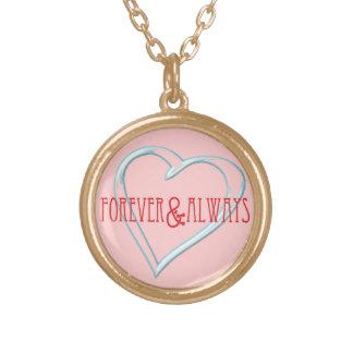 Forever & Always Valentine's & Love Necklace