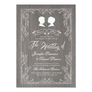 Country Style Wedding Invitation