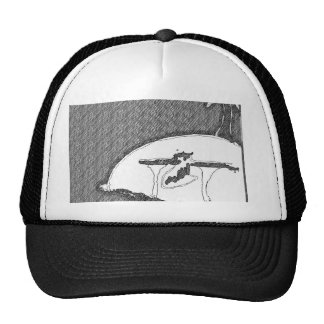 forever an island hat (black)