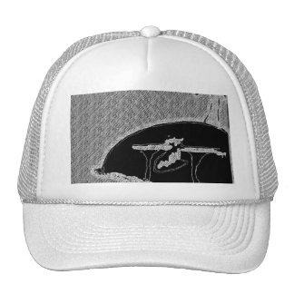 forever an island hat (white)