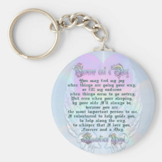 Forever and a Day Basic Round Button Keychain