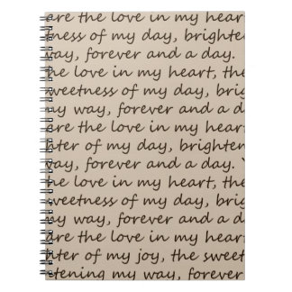 Forever and A Day Poem Journal