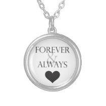 Forever and Always True Love Pendant