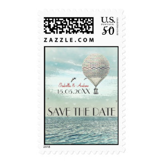 Forever and for always flight save the date stamp