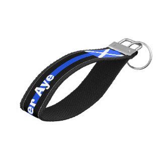 Forever Aye Scottish Independence Wrist Keychain