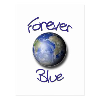 Forever Blue Earth Postcard