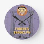 Forever Brooklyn Clock