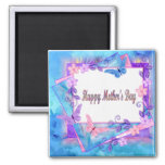 forever butterflies-Happy Mother's Day 2 Inch Square Magnet