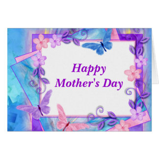 forever butterflies-HappyMother's Day Card