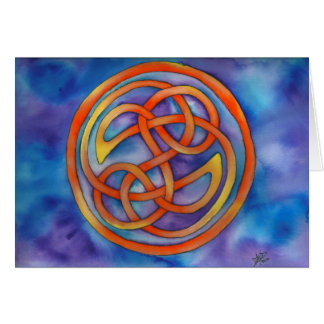 """""""Forever Celtic Knot"""" Note Cards Note Card"""