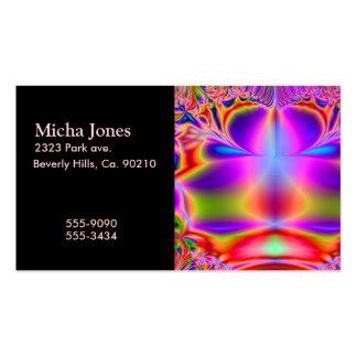 Forever Color Fractal Business Card Templates