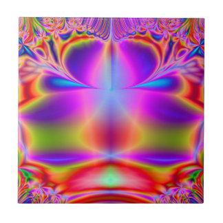Forever Color Fractal Ceramic Tile