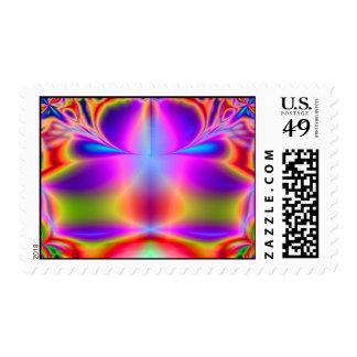 Forever Color Fractal Postage
