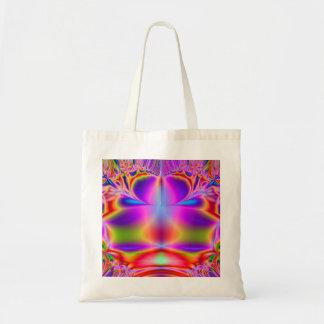 Forever Color Fractal Tote Bag