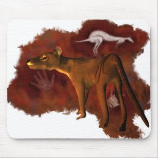Forever extinto - Thylacine o tigre tasmano Tapetes De Ratones