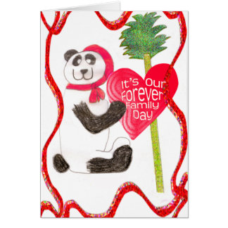 Forever Family Day - China Greeting Card