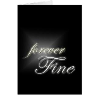 Forever Fine Card