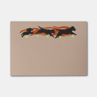 Forever Flyball Post It Notes