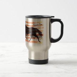 Forever Free 15 Oz Stainless Steel Travel Mug