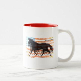 Forever Free Two-Tone Coffee Mug