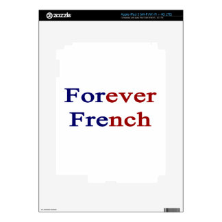 Forever French iPad 3 Skin