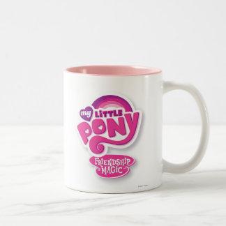 Forever Friends Logo Two-Tone Coffee Mug