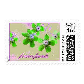 Forever friends postage stamp