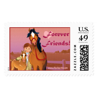 Forever Friends! Postage Stamp