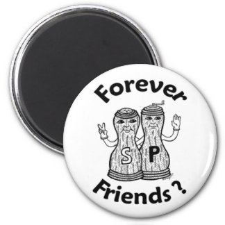 Forever Friends round magnet