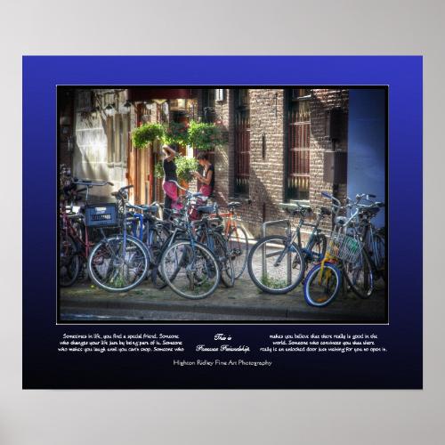 Forever Friendship - Breaktime in Amsterdam Print