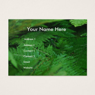 Forever Green Business Card