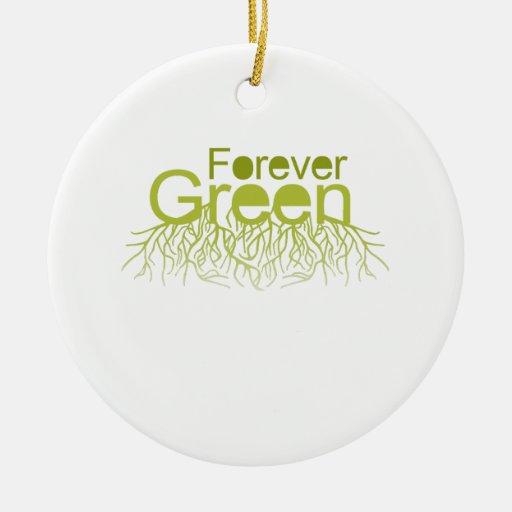 Forever Green Christmas Ornament