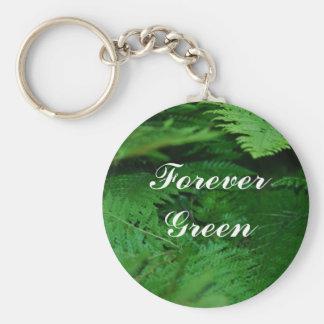 Forever Green Key Chain