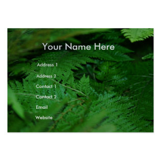 Forever Green Large Business Card
