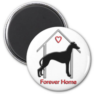 Forever Home 2 Inch Round Magnet